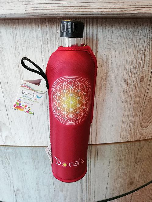 Biodora Trinkflasche Blume des Lebens