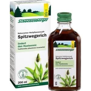 Naturreiner Heilpflanzensaft Spitzwegerich 200ml