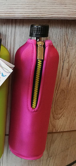 Biodora Trinkflasche pink