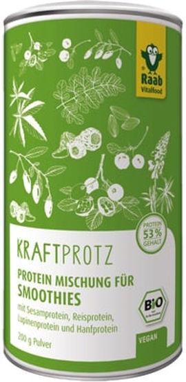 Protein Mischung für Smoothies - Kraftprotz