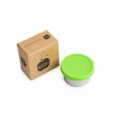 Brotzeit Mini dicht Dipdose Dose Jausenbox aus Edelstahl