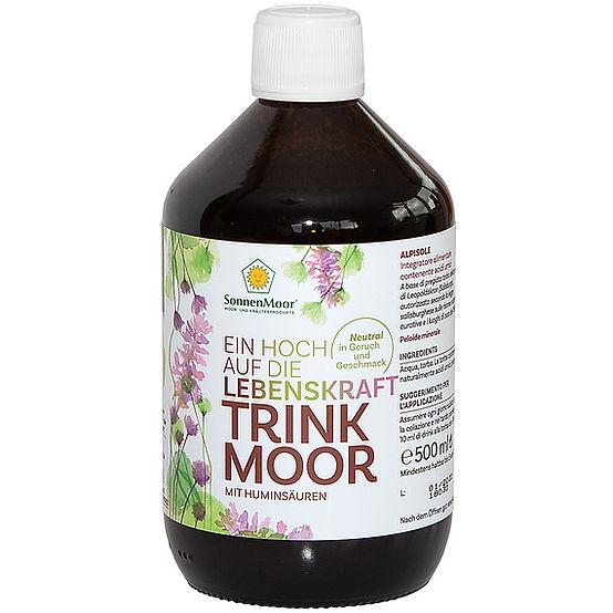 Trinkmoor in der Glasflasche 500g