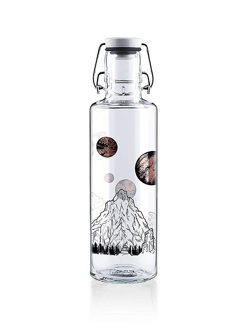 Soulbottle Trinkflasche aus Glas Sky is not the Limit