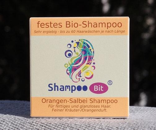 Orangen-Salbei Shampoo