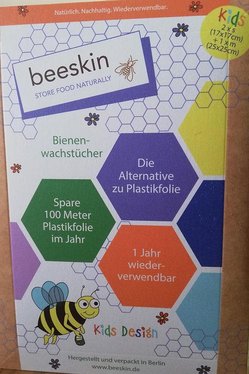 beeskin - Bienenwachstücher Kids
