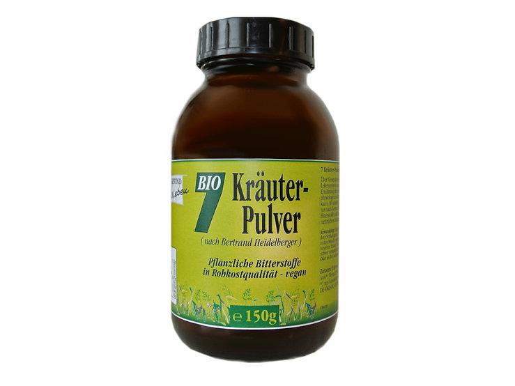 7 Kräuter Pulver 75g