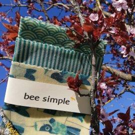 Bienenwachstücher 3er Set