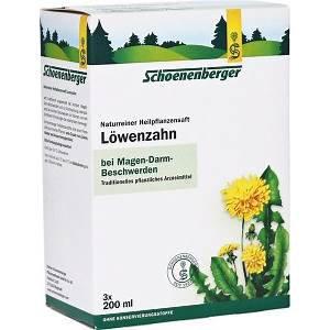 Naturreiner Heilpflanzensaft Löwenzahn 200ml