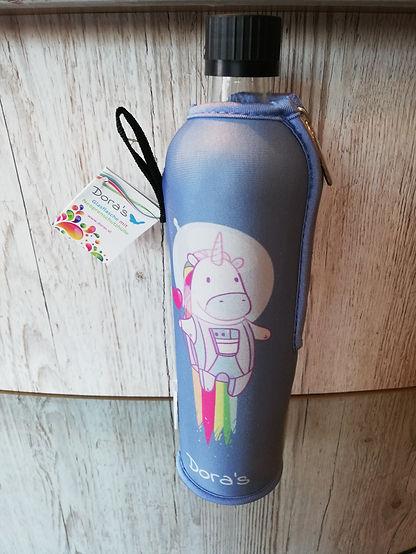 Biodora Trinkflasche Einhorn