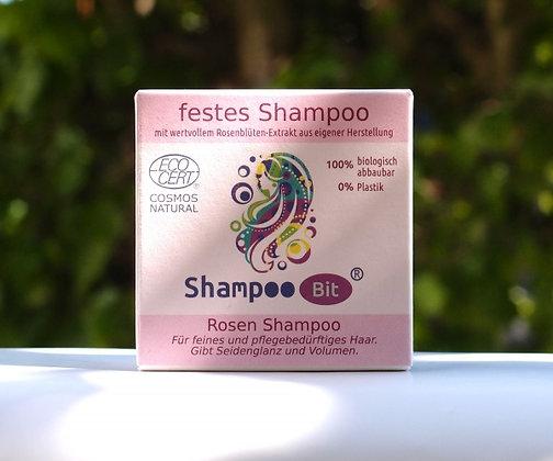 Festes Rosen Shampoo