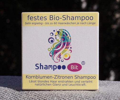 Kornblumen-Zitronen Shampoo