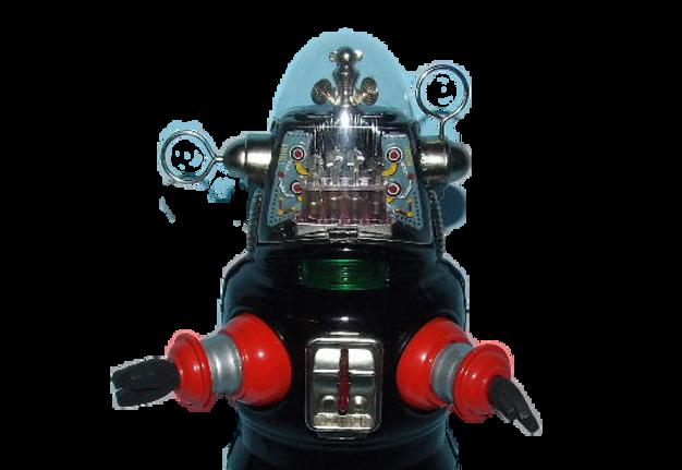 Nomura Robby Mechanized Robot Space Toy