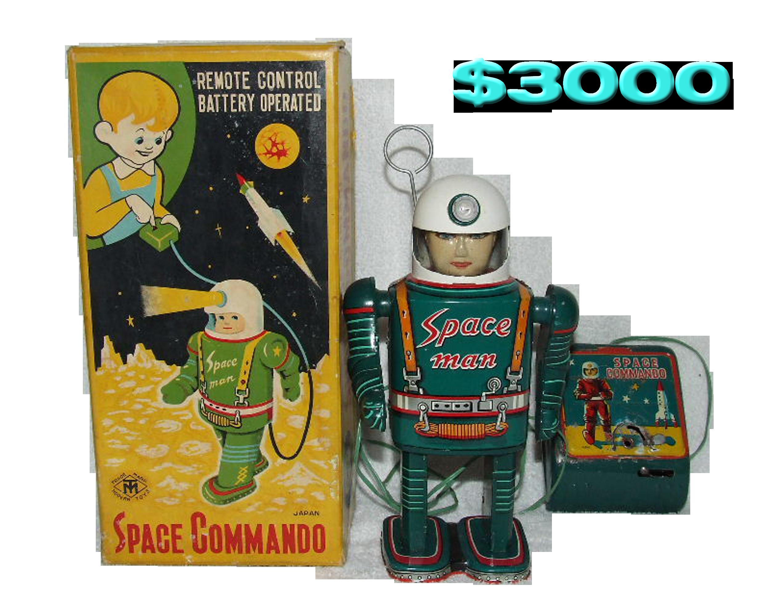 Masudaya Space Man Robot Toy