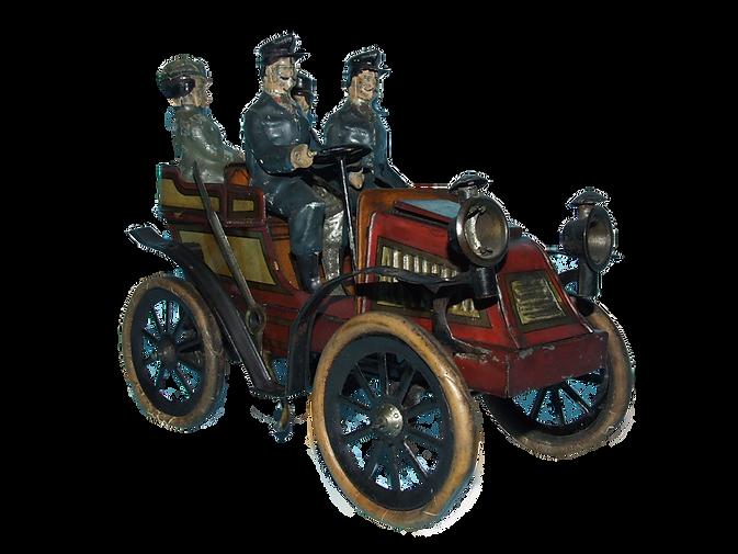 Gunthermann Tonneau Toy Wind Up Car