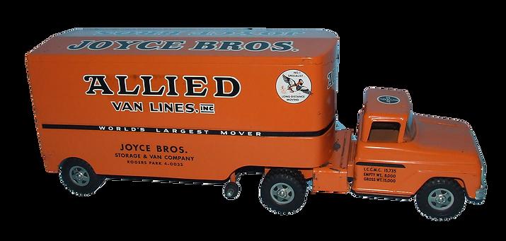 Tonka Allied Pressed Steel Toy Truck
