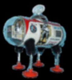 Yonezawa Moon Explorer Space Toy