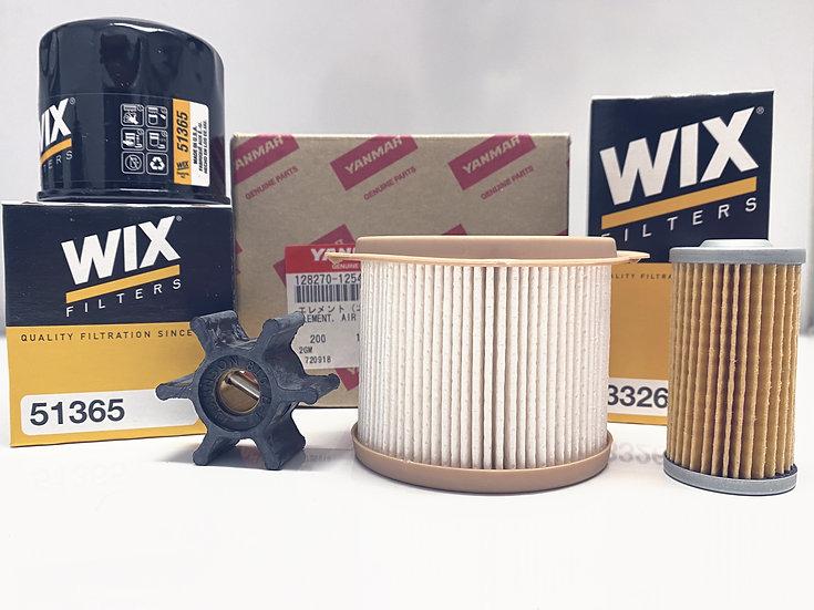 Yanmar 3YM30/20 Service Kit w/ 500 series Fuel Filter