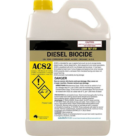 Diesel Biocide Fuel Treatment