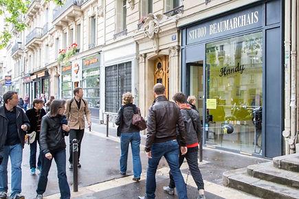 Espace Beaumarchais location boutique  e