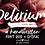 Thumbnail: Delirium brush font duo