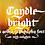 Thumbnail: Candlebright blackletter font