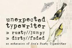 Unexpected Typewriter