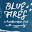 Thumbnail: Blue Fires handwritten brush font