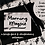 Thumbnail: Morning Magpie brush font and illustrations