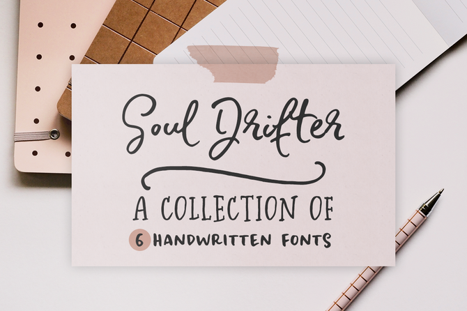 New font family! Soul Drifter