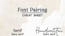Font pairing + coupon code!