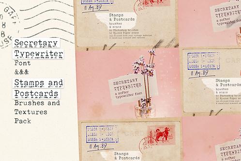 Secretary Typewriter & Texture pack
