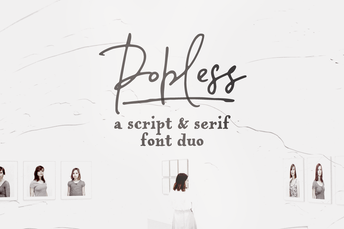 New font! Popless