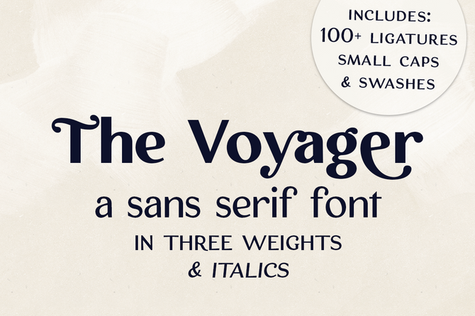 New Font and Coupon Code