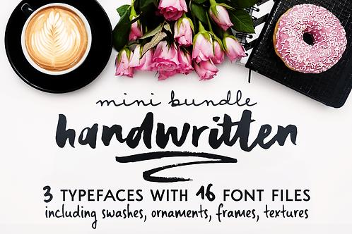 Handwritten Mini Bundle + extras!