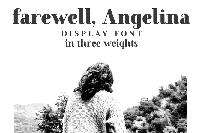 Update! Farewell, Angelina