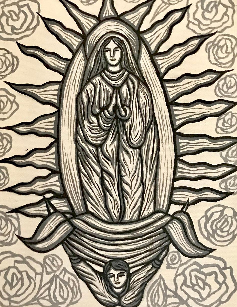 Virgen horizontal black and white.jpg