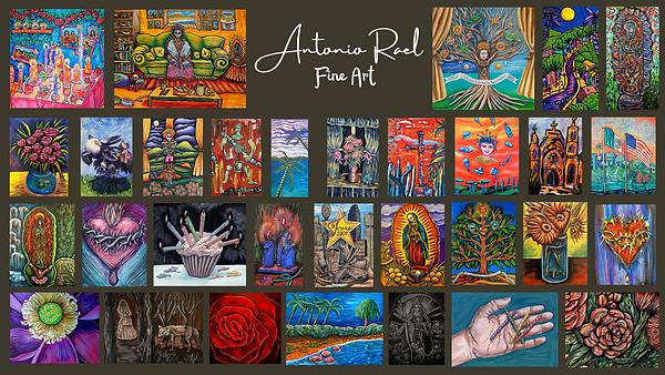Antonio Rael Fine Art FACEBOOK cover gre
