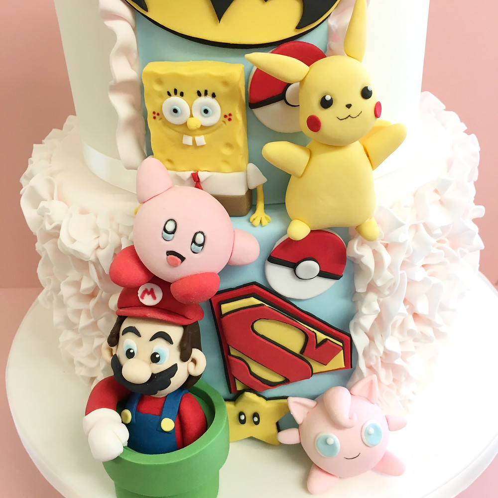 Alternative geeky wedding cake