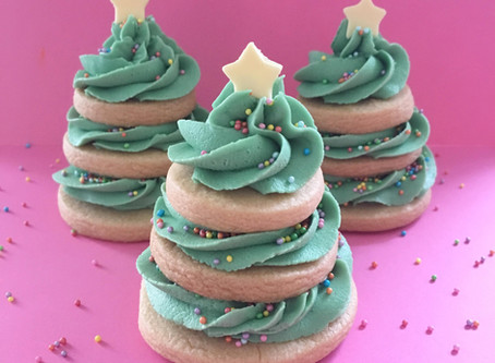 Christmas Tree Biscuit Tutorial
