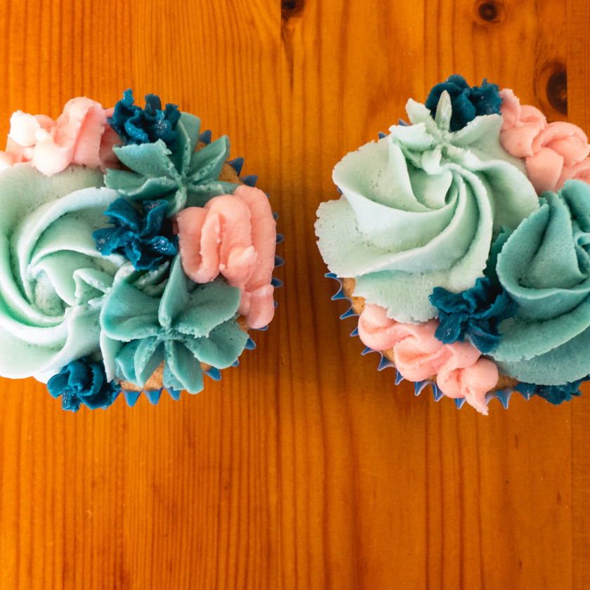 Cupcake with Buttercream decoration