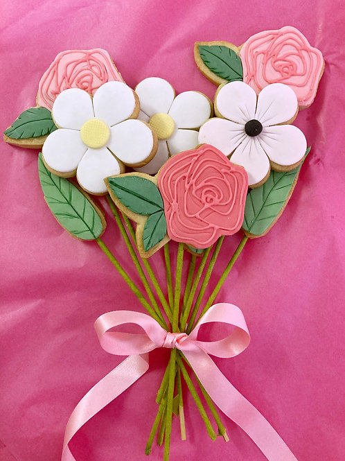 Spring Biscuit Bouquet