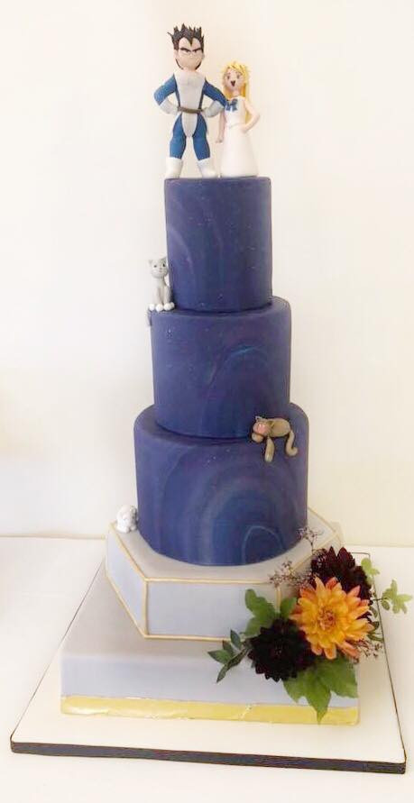 Dragonball Z, Sailor moonm wedding cake