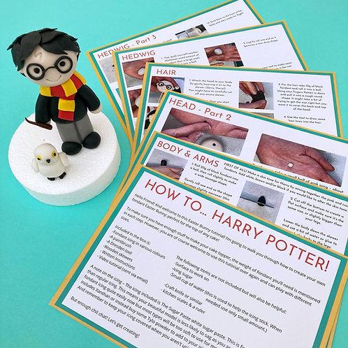 Harry Potter Cake Topper Kit