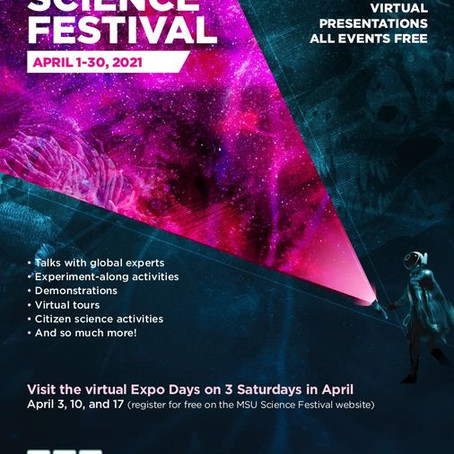 MSU Science Festival April 1-30