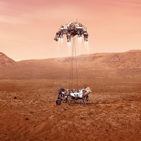 Mars 2020 Mission- Perseverance Rover Landing