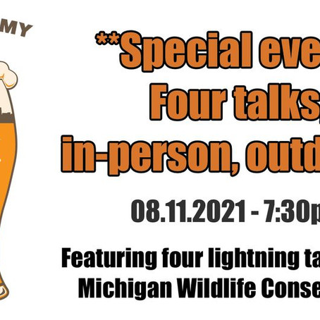 Astronomy on Tap – In person event Aug. 11!