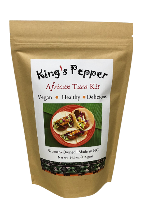 King's Pepper African Tacos kit