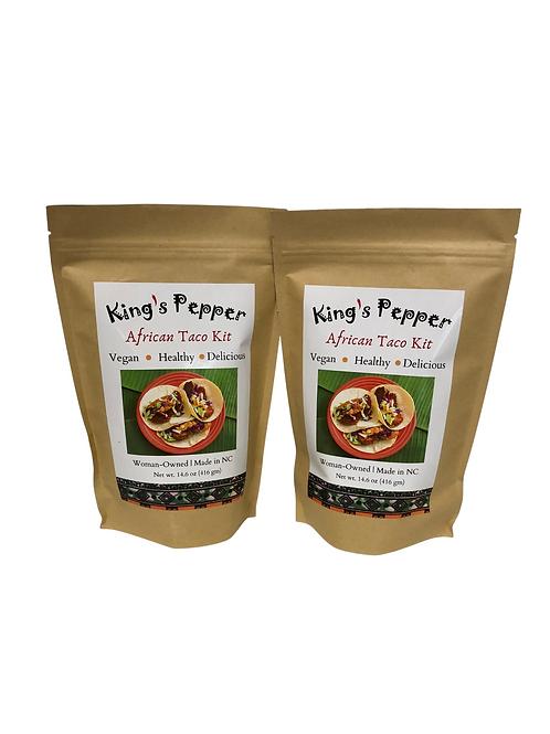 King's Pepper African Tacos Juneteenth BOGO FREE