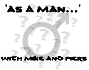 As a man podcast logo
