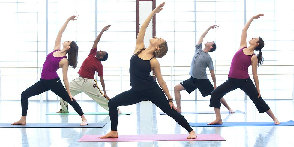 Cours de vinyasa yoga sur Zoom - Jeudi 21 à 18:00